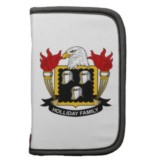 Holliday Family Crest Folio Planners