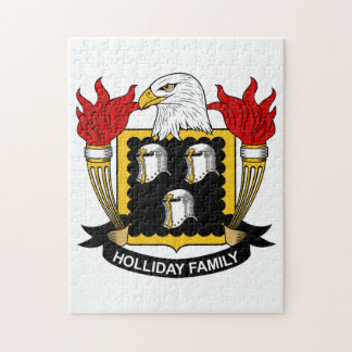 Holliday Family Crest Puzzles