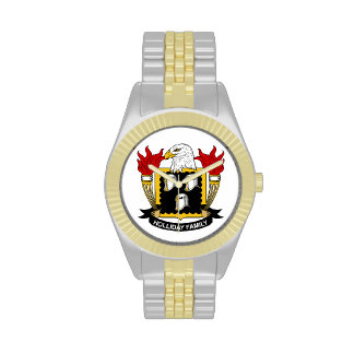 Holliday Family Crest Watches