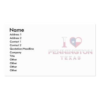 Holliday, Texas Business Card Template