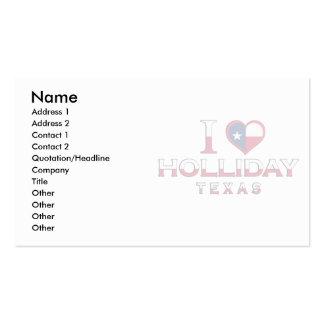 Holliday, Texas Business Card Templates