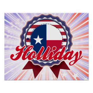 Holliday TX Posters