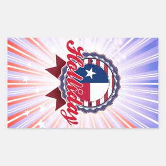 Holliday, TX Rectangular Stickers