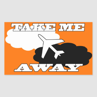 Hollidays | Fly Away Rectangular Sticker