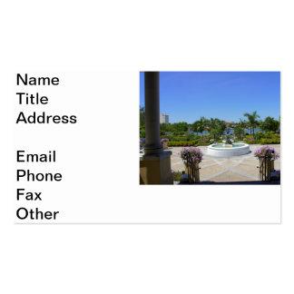 Hollis Overlook Business Card Template