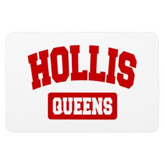 Hollis Queens NYC Rectangular Magnet