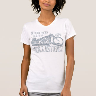 Hollister Motorcycle Rally vintage slate T Shirts
