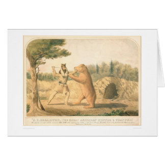 Hollister's Bear Encounter (0547A) Greeting Card