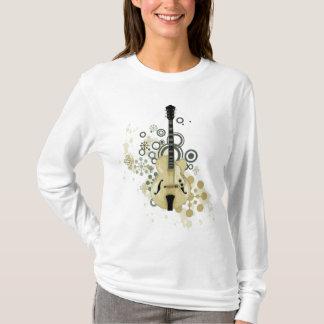 Hollow Body Electric Guitar T-Shirt