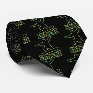HOLLOW EXTREME SNOWBOARDER IN GREN BROWN CAMO TIE