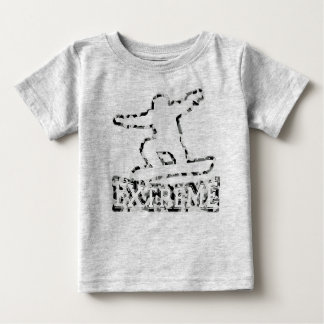 HOLLOW EXTREME SNOWBOARDER IN URBAN CAMO BABY T-Shirt