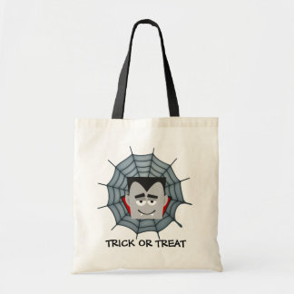 Holloween Count Dracula Budget Tote Bag