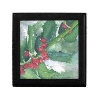 Holly and Berries Gift Box