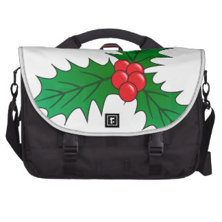 Holly And Berries Commuter Bag