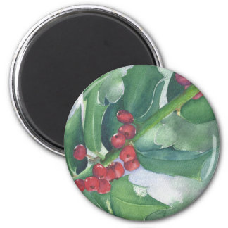 Holly and Berries Magnet