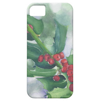 Holly and Berries phone case