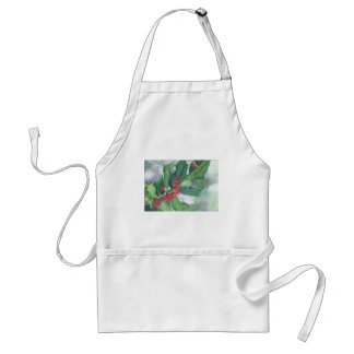Holly and Berries Standard Apron