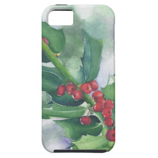 Holly and Berries Tough iPhone 5 Case