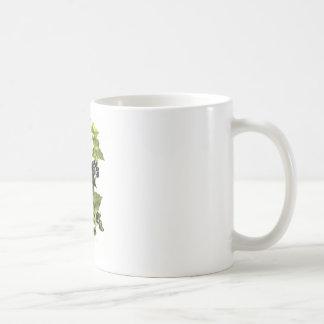 holly and ivy design Christmas Coffee Mug