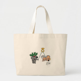 Holly & Angel Tote Bags