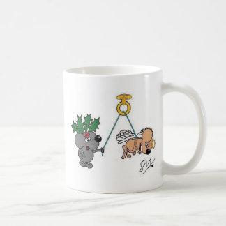 Holly & Angel Mug