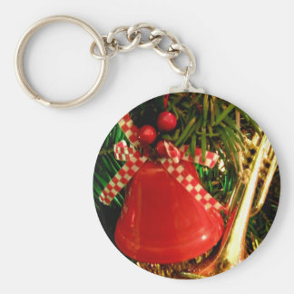 Holly Bell Basic Round Button Key Ring