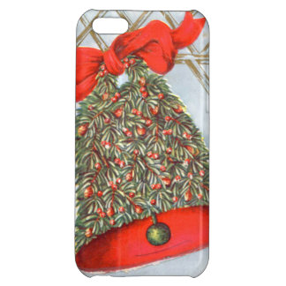 Holly Bell Red Ribbon Glad Tidings iPhone 5C Covers