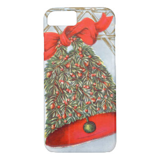 Holly Bell Red Ribbon Glad Tidings iPhone 7 Case
