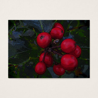 Holly Berries ATC