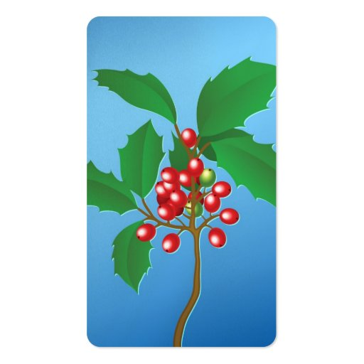 Holly Berries Business Card
