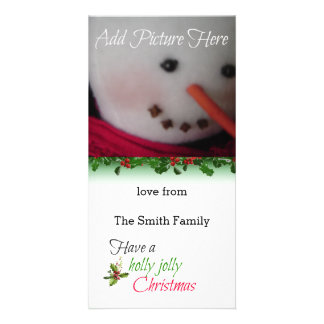 Holly Berries Photo Card