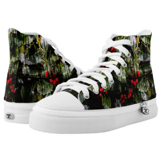 Holly Berry High Tops