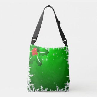 Holly Berry on Ice Crossbody Bag