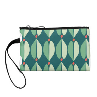 Holly Berry Pattern Coin Wallet