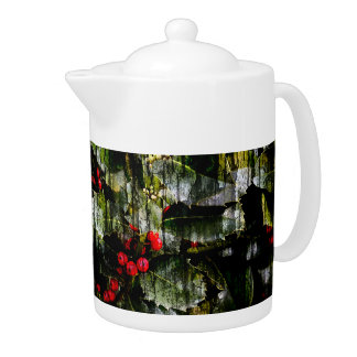Holly Berry Teapot