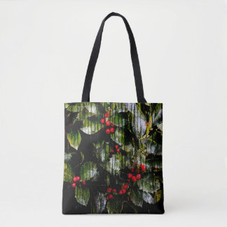 Holly Berry Totes