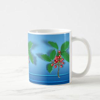Holly Branch Mugs