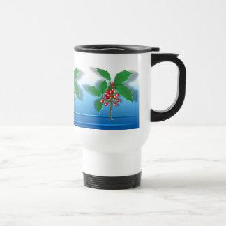 Holly Branch Coffee Mug