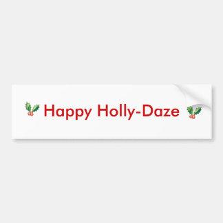 Holly Bumper Sticker