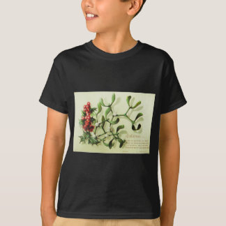 Holly_Christmas_card_ T-Shirt