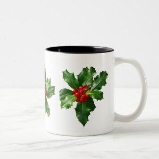 Holly Christmas Holidays Mug