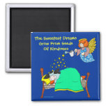 "Holly Cow, ""Sweet Dreams"" Fridge Magnet"