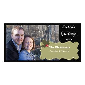 Holly Days Photocard 2014 Photo Card