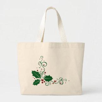 Holly Daze Jumbo Tote Bag