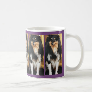 Holly Dog Coffee Mug