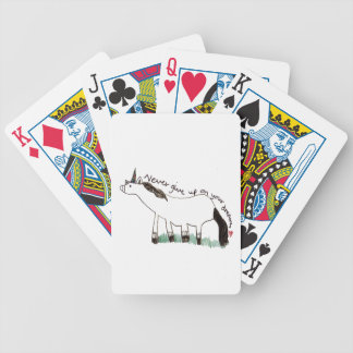 Holly Dolly's Dream Bicycle Playing Cards