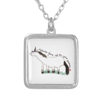 Holly Dolly's Dream Silver Plated Necklace