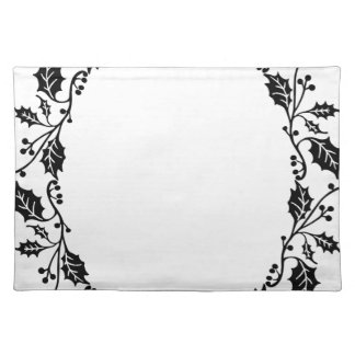Holly Frame Placemat