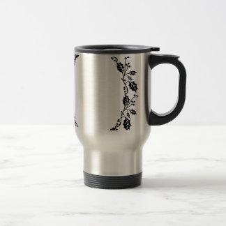 Holly Frame Travel Mug