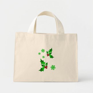 Holly Green Tote Bag